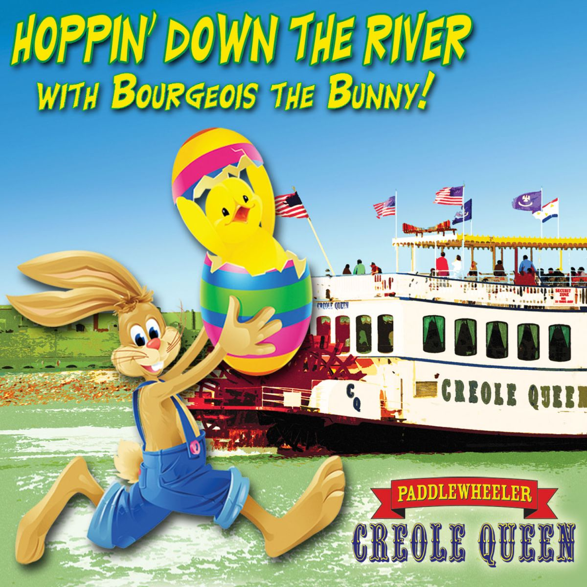 Hoppin' Down the River with the Bourgeois the Bunny